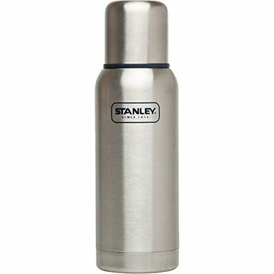 Stanley Adventure Classic Thermos Vacuum Bottle Stainless Steel 25 oz Silver