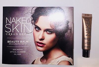 BEAUTY BALM NAKED SKIN BY URBAN DECAY SPF-20 SAMPLE SIZE 3.7ML/0.12