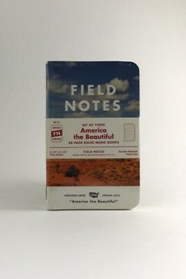 Field Notes FNC-18: America the Beautiful Limited Edition - Spring 2013 Sealed