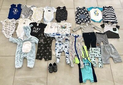 Bulk Baby Boys Clothes 00 - 20+ Items