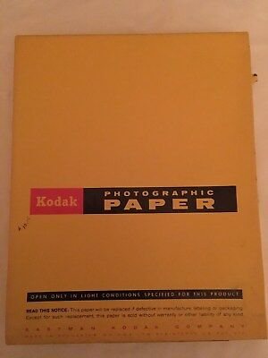 Kodak Photographic Paper Medalist F-2 Single Weight