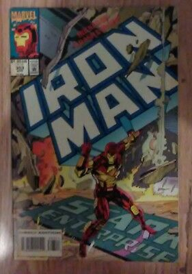 Iron Man Vol 1 #303 (1993) New Warriors Thunderstrike VF+ Combined Postage