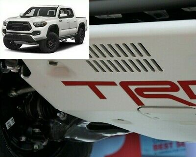 Premium Cast Vinyl Decal Inserts for 2017+ Tacoma TRD Pro Skid Plate