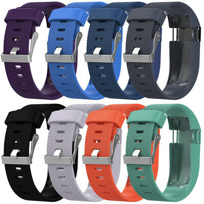 22MM Replacement Silicone Band Strap Wristband Bracelet For Fitbit Charge HR
