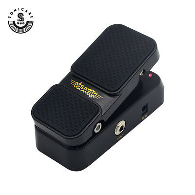 Sonicake Active Volume Vintage Wah Sound 2 in 1 Footswitch Guitar Effects Pedal
