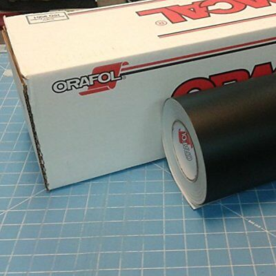 "24"" X 10 Ft Roll Of Oracal 651 Matte Black Vinyl For Craft Cutters And Sign"