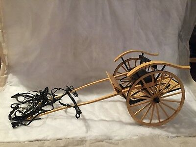 Breyer Fine Harness With Meadowbrook Cart In Great Condition