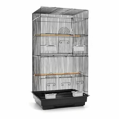 i.Pet 88cm Bird Cage Parrot Pet Carrier Portable Canary Budgie Finch Perch M