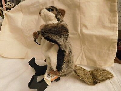 FLYING SQUIRREL HAND PUPPET - by FOLKMANIS - Plush and Soft