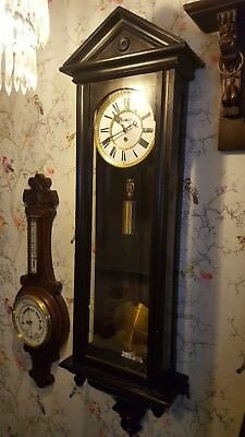 antique vienna wall clock ( see listing for limited delivery )