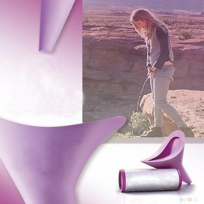 Women's Female Portable Urinal Travel Outdoor Stand Up Pee Urination Device Case