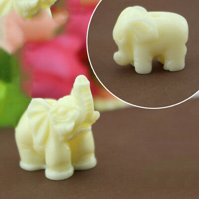 New Boutique Collection Carving White Small Elephant Home Office Decor Supplies