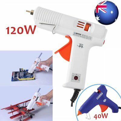 Electric Heating Hot Melt Glue Gun Adjustable Temperature Repair Tool DIY Aussie