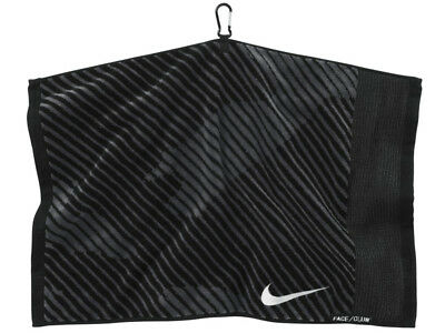 Nike Face/Club Jacquard Towel III Black/Dark Grey