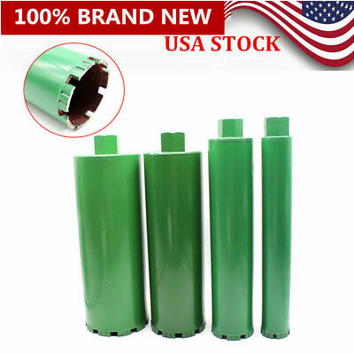 2''/3'' /4''/ 5'' Combo - Wet Diamond Core Drill Bit for Concrete -Premium Green
