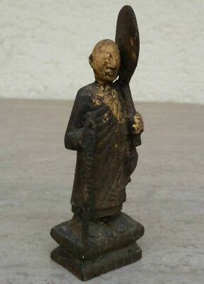 Mönch, Monk from Myanmar ( Burma ) wood, very beautiful !