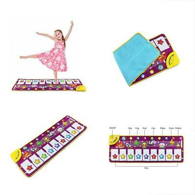 Musical Dance Mat Baby Early Education Music Piano Keyboard Playmat Blanket Toy
