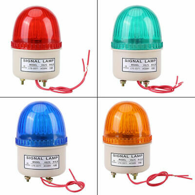 220V 15W Industrial LED Flash Strobe Light Warning Lamp Red Green Blue Yellow im