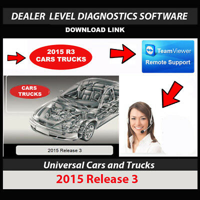 2015R3 OBD2 Cars + Trucks Diagnostics 2015.3 No Cable Download