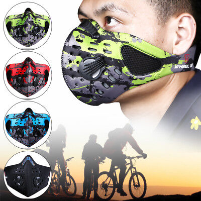Anti-Dust Riding Motorcycle Bicycle Cycling Outdoor Ski Face Mask Filter