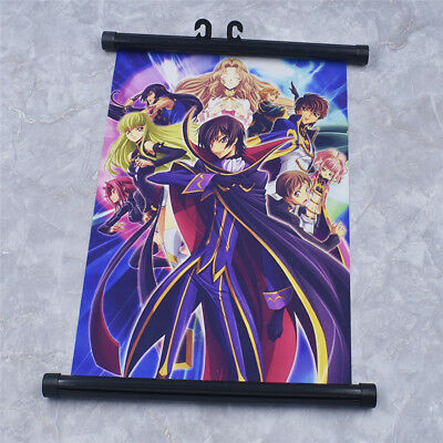 Anime Code Geass Lelouch of the Rebellion Wall Scroll Poster Painting Decor
