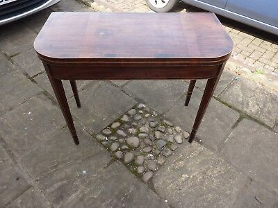 Edwardian card/games/side table in need of restoration