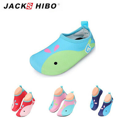 17fbb8a4eb34 Baby Toddler Whale Barefoot Sandals Shoes Water Skin Infant Aqua Socks Boy  Girl