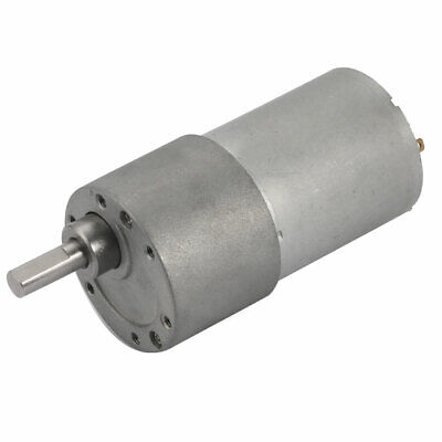 Gear Motor DC 24V 60RPM High Torque Speed Reduction Motor w Metal Gearbox