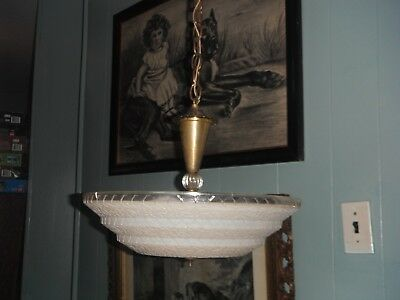Anique Vintage Chandelier 1940's or 50's