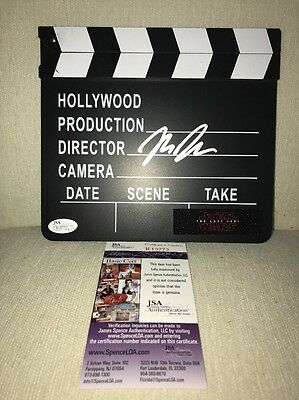 Rian Johnson Signed Hollywood Movie Director Star Wars Board JSA COA