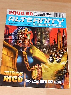 2000 AD Alternity Winter Special Comic