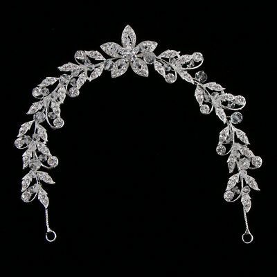 Women's Crystal Plum Blossom Ornament Bridal Charming Exquisite Accessories