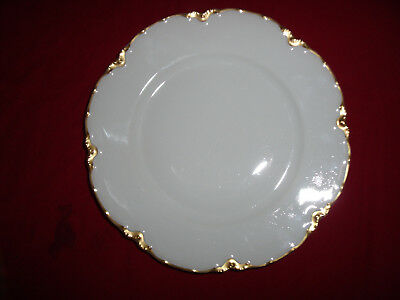 Haviland Limoges France Ranson Gold Trim Salad Plate 7 1/2 Inch