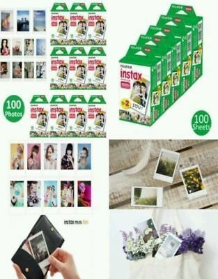 100 Sheets Fujifilm Instax Mini 8 film for Fuji 7s 9 70 25 50s 90