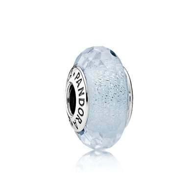 02ac4d245 AUTHENTIC PANDORA CHARM Frosty Mint Shimmer Murano Glass 791656 ...