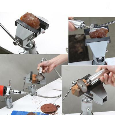 Mini Light Tabletop Bench Vice Vise / 2.02-Inch Jaw Opening / Swivel Base