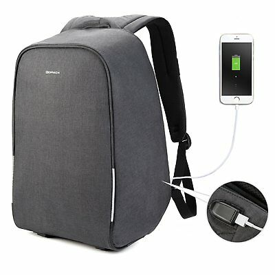 Kopack 15.6 inch Anti Theft Laptop Backpack with USB Charging Port Waterproof