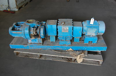 Tuthill Lobe Pump - Model 330-DI w/ Reliance 10 HP Motor