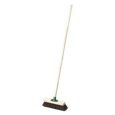 "Sealey BM12H 12""(300mm) Broom Stiff/Hard Bristle"