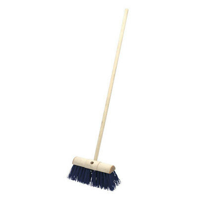 "Sealey BM13H 13""(325mm) Yard Broom Stiff/Hard Bristle"