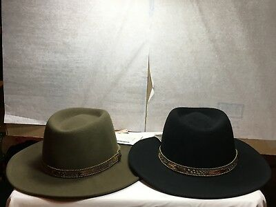 e9a60713ec0d2 NEW WITH TAG Stetson Cromell Crushable Men s Hat -  59.99