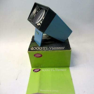 Vintage Boots 4000TL Viewer For All 2x2 Colour Slides with Box & Instructions