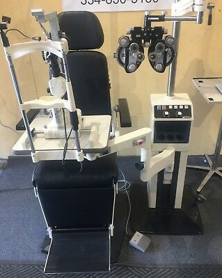 Marco Deluxe, Ultramatic Phoropter, Topcon 2ED Slit Lamp, Tonometer, Projector