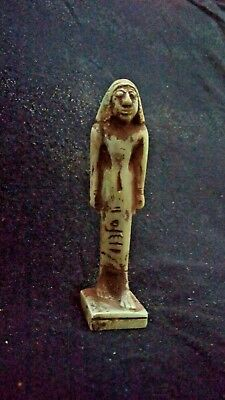 Extremely beautiful rare ancient Egyptian antiques amulet royal guard