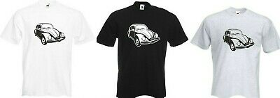 CLASSIC VW BEETLE VOLKSWAGEN RETRO COOL T SHIRT Sizes S - XXL