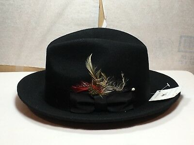 2aa6802e73f NEW WITH TAG Capas Untouchable Fedora Men s Brim 2 1 2   -  44.99 ...