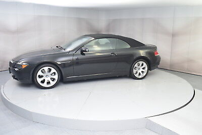 2007 BMW 6-Series 650i in Black with 74,349 miles 2007 BMW 650i CONVERTIBLE IN BLACK WITH BLACK INTERIOR GOOD CONDITION