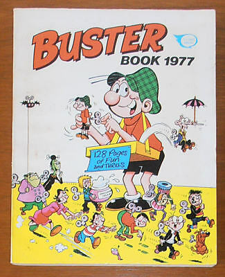 BUSTER Annual Book 1977 - like Whizzer and Chips Whoopee Valiant