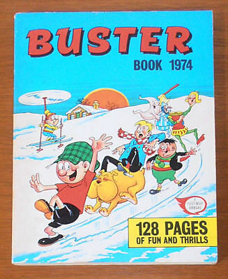 BUSTER Annual Book 1974 - like Whizzer and Chips Whoopee Valiant