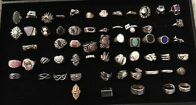 Sterling Silver rings Un Searched Assortment Lot